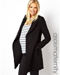 Manteau noir Asos Maternity