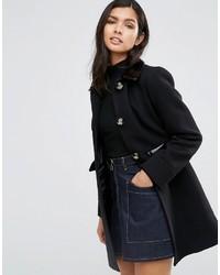 Manteau noir Asos