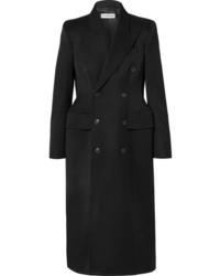 Manteau noir Balenciaga