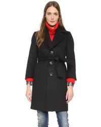Manteau noir Dsquared2