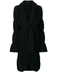 Manteau noir Giorgio Armani