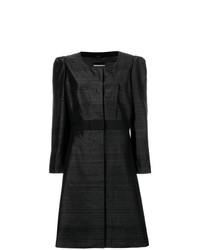 Manteau noir Giorgio Armani Vintage