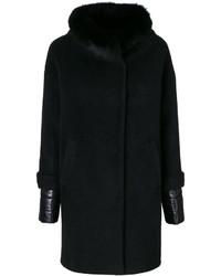 Manteau noir Herno