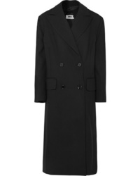 Manteau noir MM6 MAISON MARGIELA