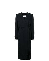 Manteau noir MM6 MAISON MARGIELA