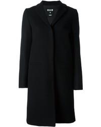 Manteau noir MSGM