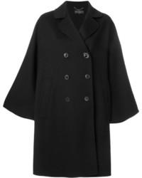 Manteau noir Salvatore Ferragamo