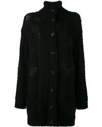Manteau noir Valentino