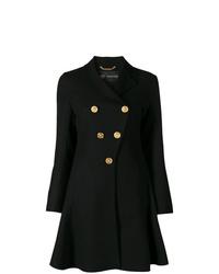 Manteau noir Versace