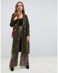 Manteau olive Missguided