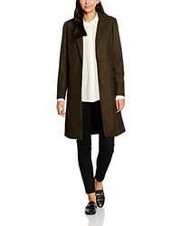 Manteau olive New Look