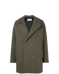 Manteau olive Saint Laurent