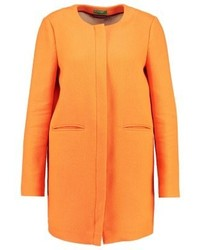 Manteau orange Benetton
