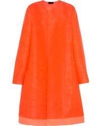 Manteau orange Fendi