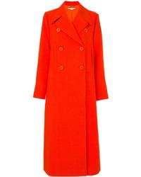 Manteau orange Stella McCartney