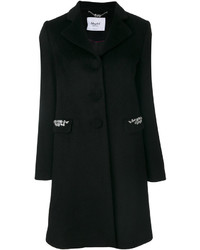 Manteau orné noir Blugirl
