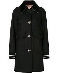 Manteau orné noir No.21