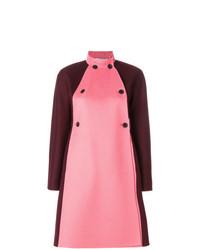 Manteau orné rose Valentino