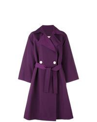 Manteau pourpre foncé