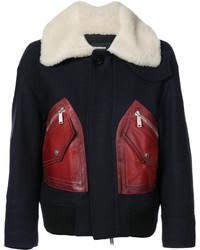 Manteau pourpre foncé Dsquared2