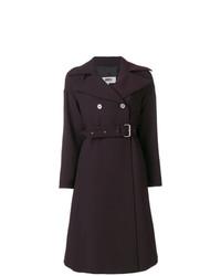 Manteau pourpre foncé MM6 MAISON MARGIELA