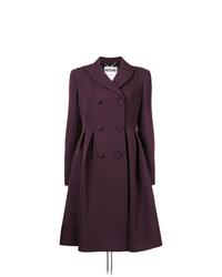 Manteau pourpre foncé Moschino