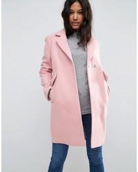 Manteau rose Asos