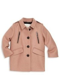 Manteau rose Burberry