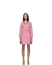 Manteau rose Gucci