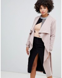 Manteau rose Missguided