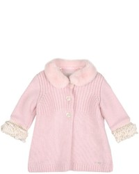 Manteau rose Simonetta Tiny