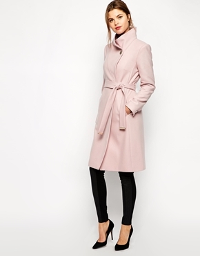 France Rose Manteau Asos Baker Lookastic €501 Ted rOwZwdqY