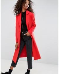 Manteau rouge Asos