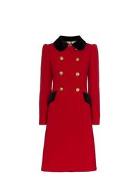 Manteau rouge Dolce & Gabbana