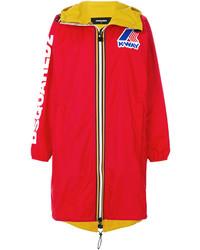 Manteau rouge Dsquared2