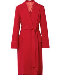 Manteau rouge Helmut Lang