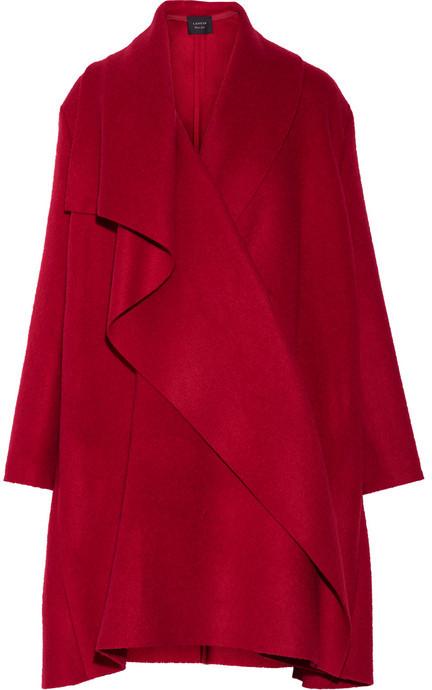 Manteau rouge Lanvin