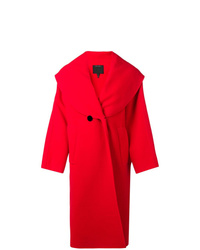 Manteau rouge Marc Jacobs