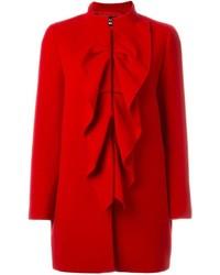 Manteau rouge Moschino