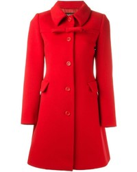 Manteau rouge Moschino