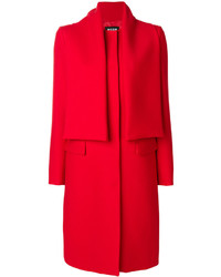 Manteau rouge MSGM