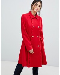 Manteau rouge Ted Baker