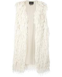 Manteau sans manches blanc Isabel Marant
