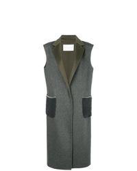 Manteau sans manches gris foncé Fabiana Filippi