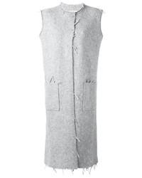 Manteau sans manches gris Maison Margiela