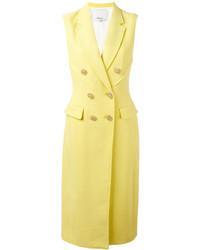 Manteau sans manches jaune 3.1 Phillip Lim