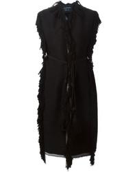 Manteau sans manches noir Lanvin