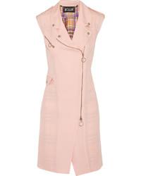 Manteau sans manches rose