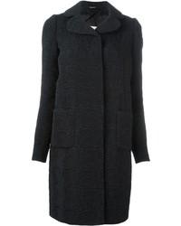 Manteau texturé noir Maison Margiela