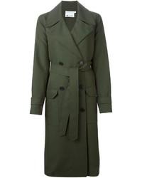 Manteau vert foncé Alexander Wang